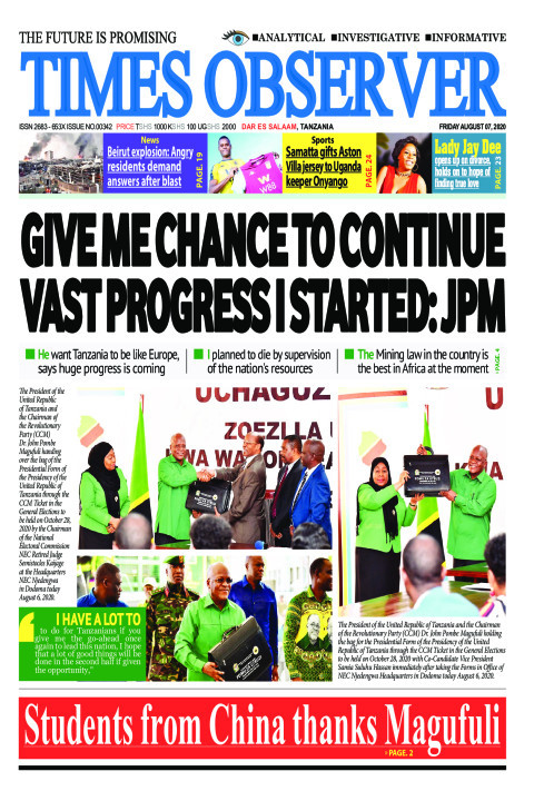 GIVE ME CHANCE TO CONTINUE VAST PROGRESS I STARTED: JPM | Times Observer