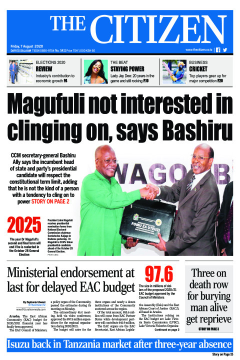 MAGUFULI NOT INTERESTED IN CLINGING ON, SAYS BASHIRU