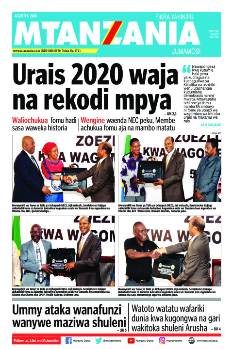Urais 2020 waja na rekodi mpya | Mtanzania