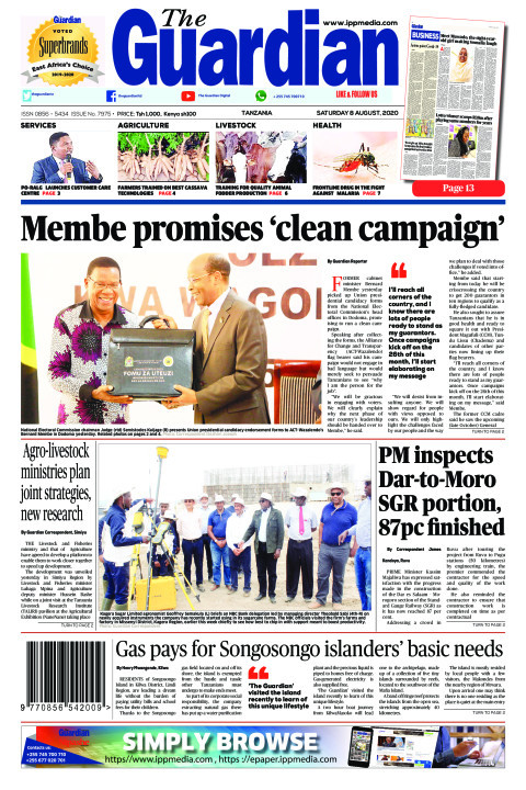 Membe promises 'clean campaign' | The Guardian