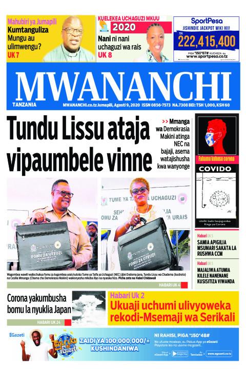 TUNDU LISSU ATAJA VIPAUMBELE VINNE  | Mwananchi