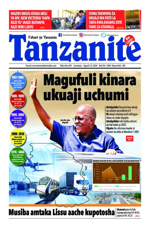 Magufuli kinara ukuaji uchumi | Tanzanite