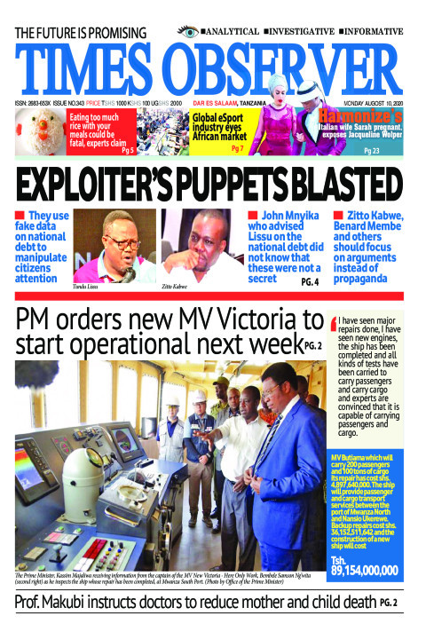 EXPLOITER'S PUPPETS BLASTED | Times Observer