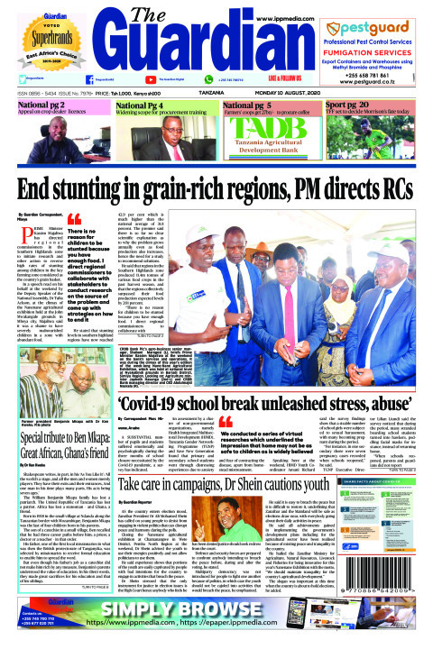 End stunting in grain-rich regions, PM directs RCs | The Guardian