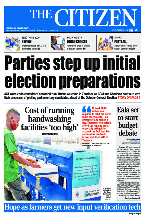 PARTIES STEP UP INITIAL ELECTION PREPARATIONS