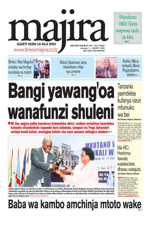 Bangi yawang'oa wanafunzi shuleni | MAJIRA