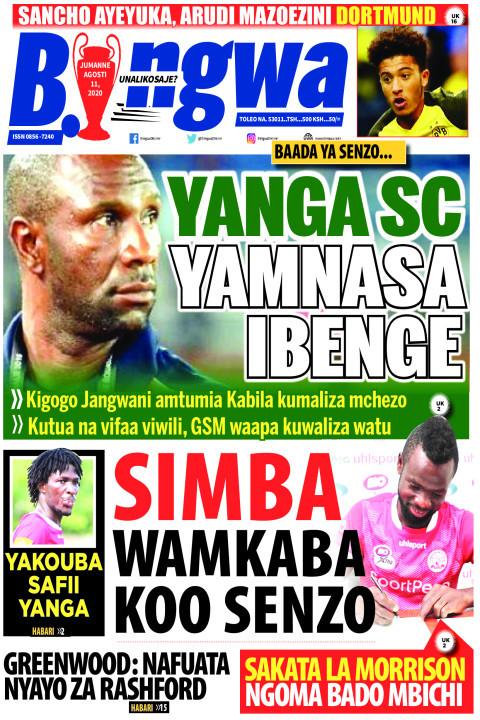 YANGA SC YAMNASA IBENGE | Bingwa