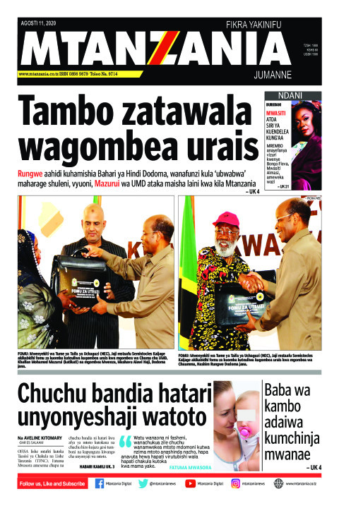 Tambo zatawala wagombea urais | Mtanzania