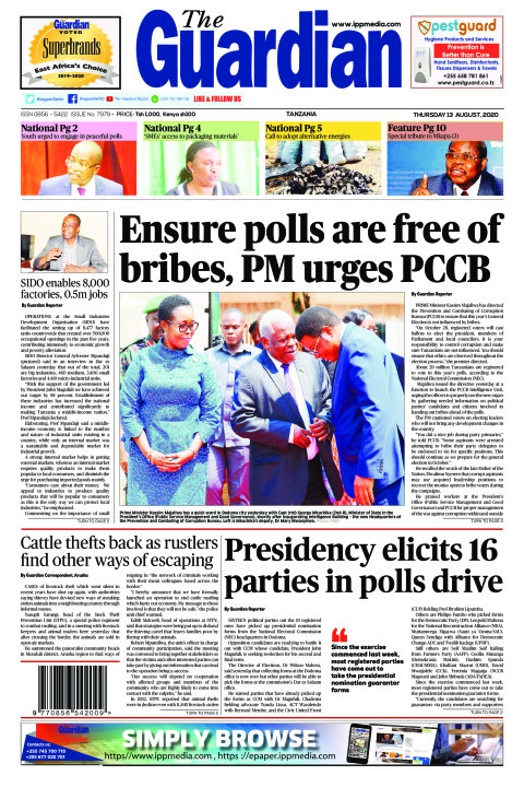 Ensure polls are free of bribes, PM urges PCCB