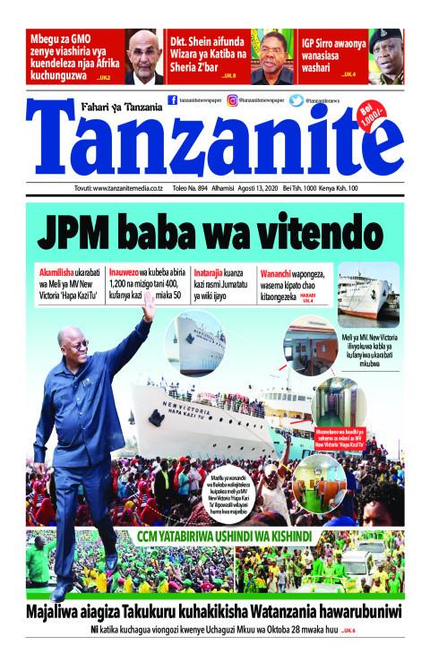 JPM baba wa vitendo | Tanzanite