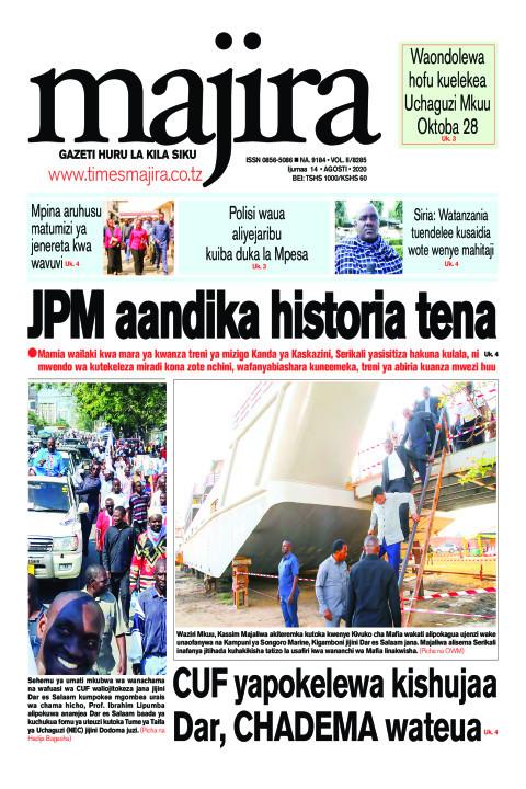 JPM aandika historia tena | MAJIRA