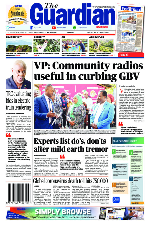 VP: Community radios useful in curbing GBV | The Guardian