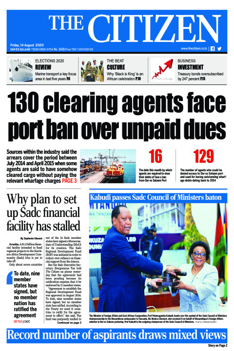 130 CLEARING AGENTS FACE PORT BAN OVER UNPAID DUES