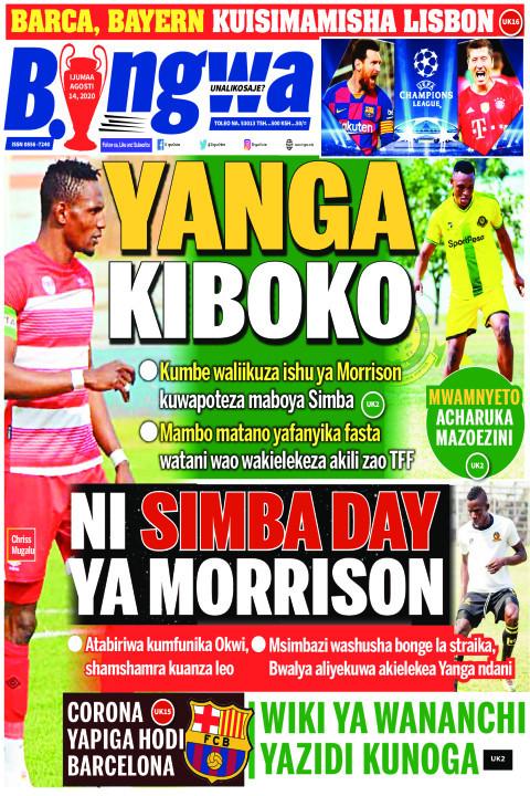 YANGA KIBOKO | Bingwa