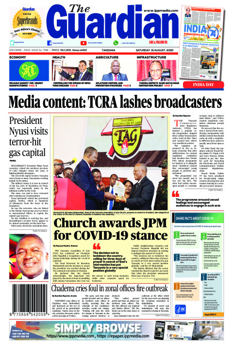 Media content: TCRA lashes broadcasters | The Guardian