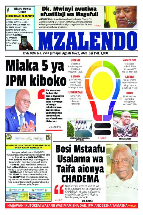 Miaka 5 ya JPM Kiboko | Mzalendo