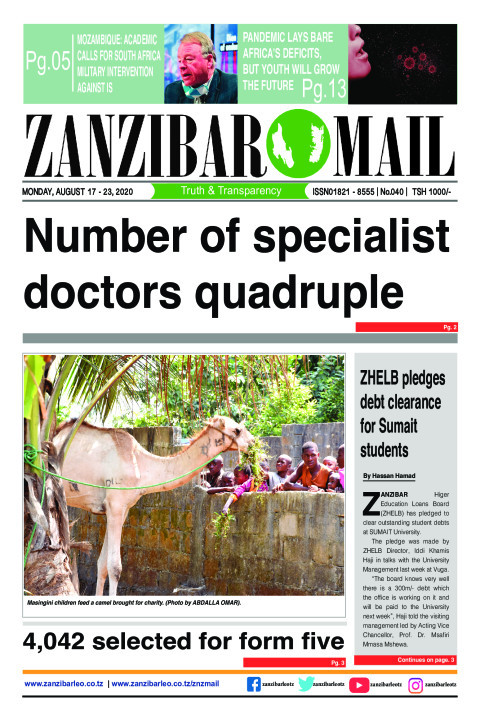 Number of specialist doctors quadruple | ZANZIBAR MAIL