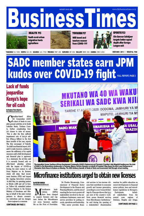 SADC member states earn JPM kudos over COVID-19 fight | Business Times