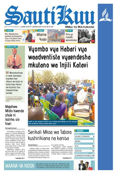 Vyombo vya Habari vya waadventista vyaendesha mkutano wa Inj | Sauti Kuu Newspaper