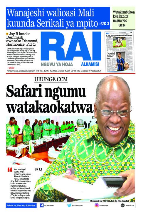 Safari ngumu watakaokatwa | Rai