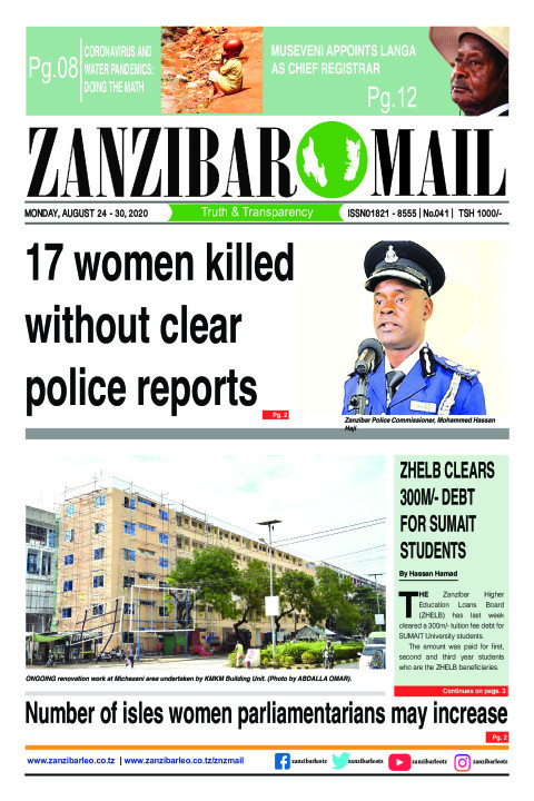 Number of isles women parliamentarians may increase | ZANZIBAR MAIL