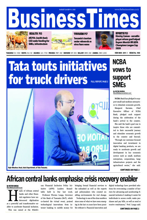 Tata touts initiatives for truck drivers | Business Times