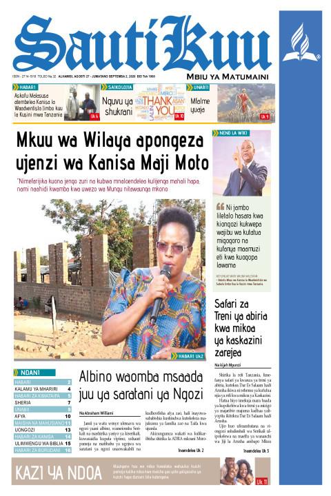 Mkuu wa Wilaya apongeza ujenzi wa Kanisa Maji Moto | Sauti Kuu Newspaper