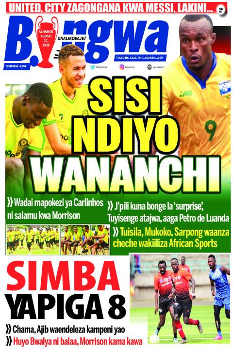 SISI NDIYO WANANCHI | Bingwa