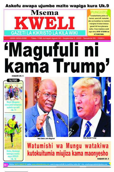 'Magufuli ni kama Trump' | MSEMA KWELI