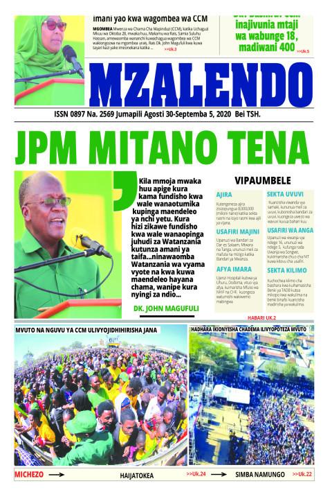 JPM MITANO TENA | Mzalendo