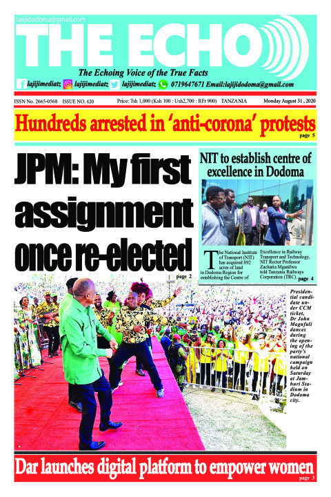 JPM: My first assignment once re-elected | The ECHO