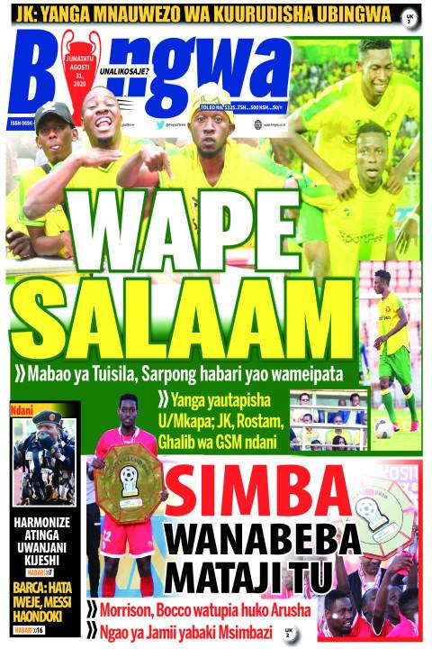 WAPE SALAAM | Bingwa