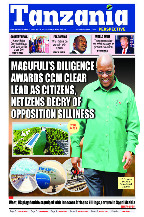 Magufuli's diligence awards CCM clear lead as citizens, neti | Tanzania Perspective
