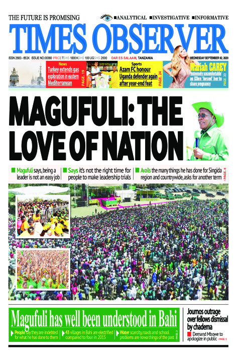 MAGUFULI: THE LOVE OF NATION | Times Observer