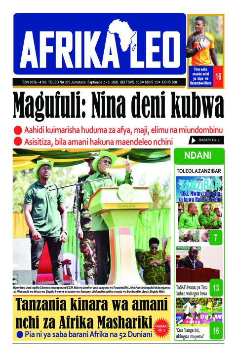 Magufuli: Nina deni kubwa | AFRIKA LEO