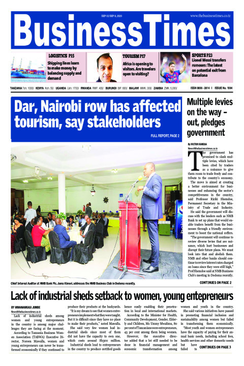 Dar, Nairobi row has affected tourism, say, stakeholders | Business Times