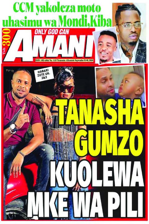TANASHA GUMZO KUOLEWA MKE WA PILI | AMANI