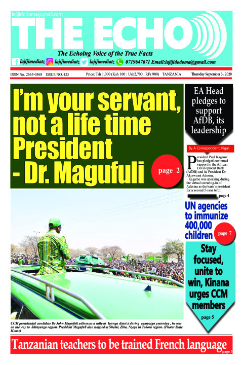 I'm your servant, not a life time President 
