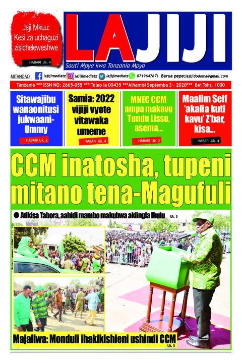 CCM inatosha, tupeni mitano tena-Magufuli    LaJiji