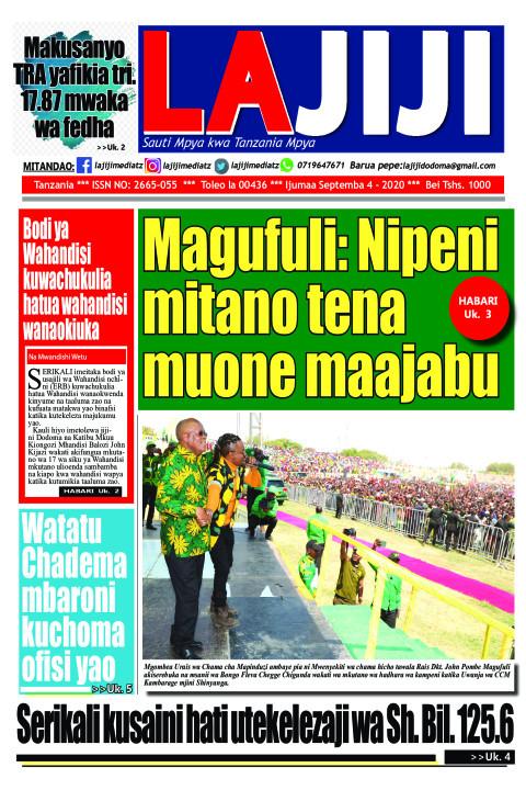 Magufuli: Nipeni mitano tena muone maajabu   LaJiji