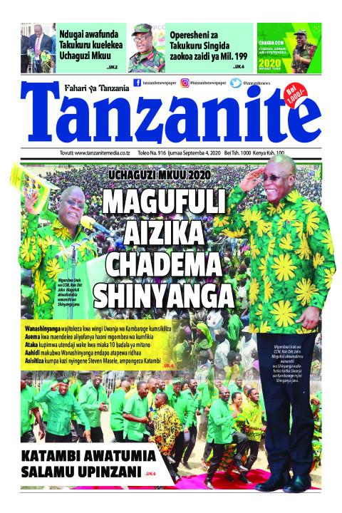 Magufuli aizika Chadema Shinyanga   Tanzanite