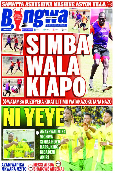 SIMBA WALA KIAPO | Bingwa