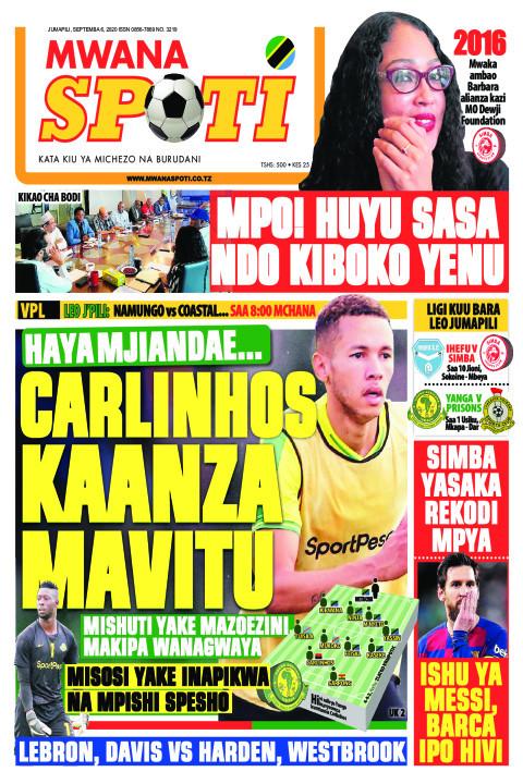 HAYA MJIANDAE CARLINHOS KAANZA MAVITU  | Mwanaspoti