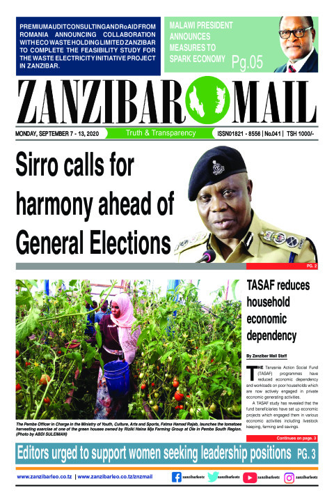 Sirro calls for harmony ahead of General Elections | ZANZIBAR MAIL