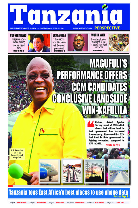 Magufuli's performance offers CCM candidates conclusive land | Tanzania Perspective