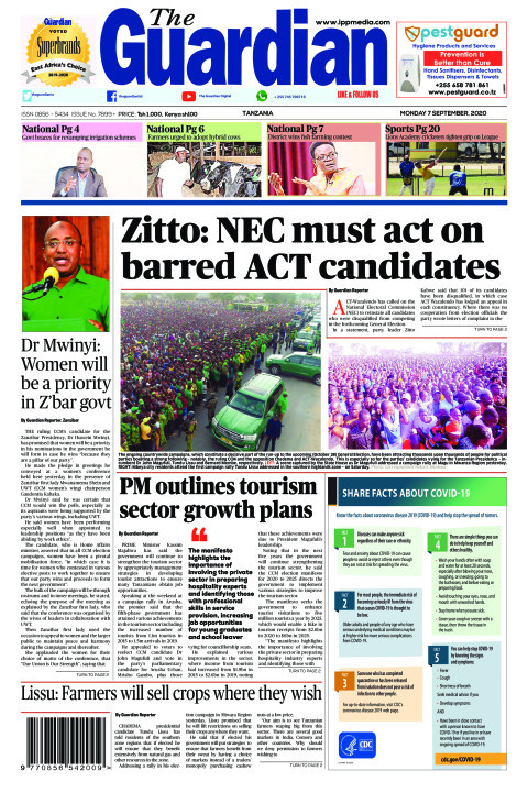 Zitto: NEC must act on barred ACT candidates  | The Guardian