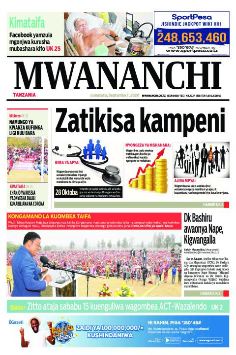 ZATIKISA KAMPENI   Mwananchi