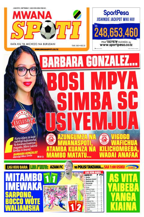 BARBARA GONZALEZ...BOSSI MPYA SIMBA SC USIYEMJUA  | Mwanaspoti