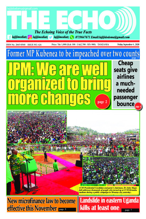 JPM: We are well organized to bring more changes | The ECHO