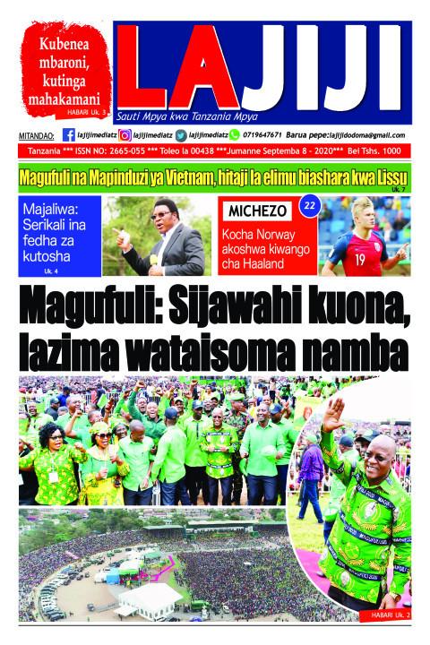 Magufuli: Sijawahi kuona, lazima wataisoma namba   LaJiji